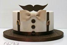 men cakes
