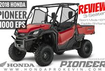 2018 Honda Pioneer 1000 EPS Review / Specs | 4x4 Side by Side UTV / ATV / SxS (SXS10M3PJ) / New 2018 Honda Pioneer 1000 EPS Review | Side by Side UTV / ATV / SxS Utility Vehicle at www.HondaProKevin.com