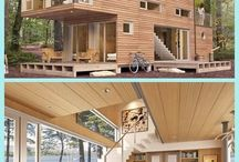 Wood wooden house building architecture