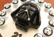 Novelty cakes / Darth Vader birthday cake