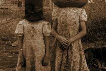 Halloween Vintage Creepy / Costumes, Vintage, Scary / by Phoebe C