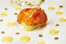 Golden lobster / Kreeft met bladgoud