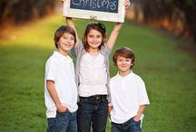 Kid photo shoot ideas / by Rachel Ward