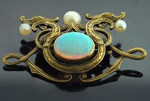 Jewelry - from the Past / Vintage, Art Nouveau and Historical Jewellery  / by Chaerea Jewellery Design