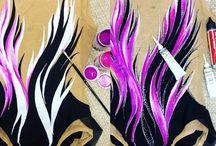Leotard Painting