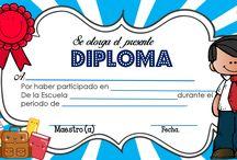 Diplomas/Reconocimientos
