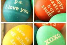 Easter / Easter ideas. #ecofriendly #easter