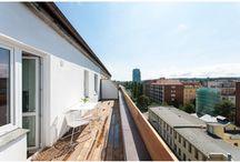 Terasy a balkóny