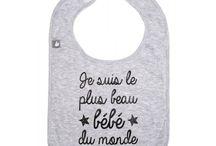 Bavoirs bébé - Cadeau naissance