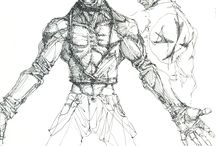 Rotten Core / Rotten Core | 2D Fighting Game | MUGEN | Team Aiduzzi | Artworks | Kuando | Ubu Vagrante | Giano Vagrante | Ella | Perro