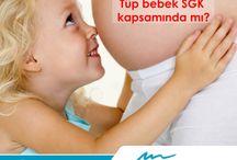 İnfertilite ve Tüp Bebek (IVF) / Tüp Bebek, normal yolla üreyemeyen anne adayından toplanan yumurtalar ile babadan alınan spermlerin laboratuvar ortamında mikroenjeksiyon teknikleri ile birleştirilerek anne rahmine yerleştirilmesi işlemidir.