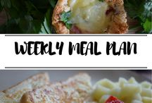 Weekly Meal Plans / A meal plan for each day of the week
