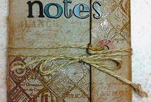 Scrapbook, cards, books & art journal