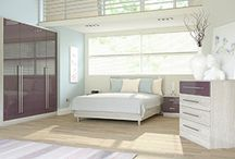 Wren's Modern Bedrooms / Add a contemporary twist on your boudoir with this wide range of modern designs.