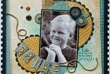 scrapbook pages / by Cathy Esbrook