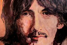 Art Portraits / Have done several portraits of famous people, sometimes  just fun to do.