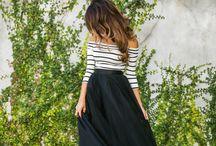 Tipos de saia elegantes