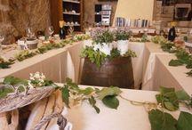 Eventi, Feste & Catering / Organizziamo feste private, cerimonie, compleanni nella nostra locanda o direttamente nella Location scelta da te, con un elegante servizio di catering.