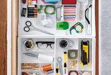 Home Organization. / by Sarah Hearts