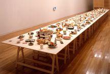 Food Art Installation