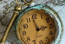 Time Pieces ~ / Time Pieces ~ Vintage Clocks ~ Old Clocks ~ Father Time ~ Tick Toc ~ Big Ben ~ What time is it ~
