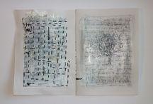 """my """" books"""" / my handmade books"""