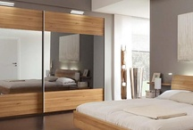 Contemporary bedrooms / Contemporary Loddenkemper wardrobes and bedroom furniture supplied by Lime Black