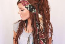 Hippie Style / Since Vintage & Hippie are Cousins. :)