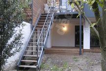 Escaliers extérieur