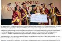 Media Coverage of 9th Annual Convocation of PGDM Batch 2016-18