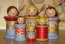Spools Spools and Dolls