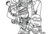 coloring page kids