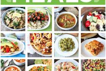 A month of vegetarian meals