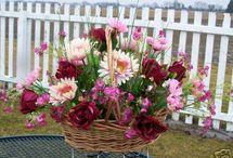 Floral Cemetery ideas
