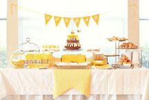 Party jaune / citron