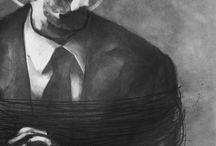 Art black/white / artist:Lefteris Toulis fine arts charcoal black n white