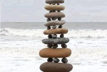 Add a display of stones