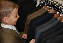 Boy's suits / Boy's suits and white shirts