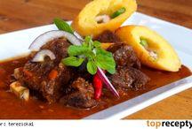 recepty - maso - hovězí