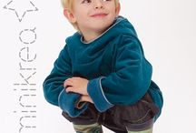 MiniKrea Kids / Simple patterns for kids clothing.