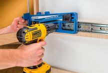 Woodworking Jigs / Jigs help you work faster, safer and more accurately. We've collected a list of the best woodworking jigs you can find for your workshop and DIY Projects.  / by Rockler Woodworking and Hardware