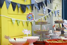Super Hero Party / Super Hero Party Ideas and Inspiration