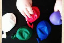 CRAFTS - Sensory Activities and Craft Ideas for Toddlers and Kids / Ideas for keeping kids and toddlers busy. Play dough, sensory bins and more.