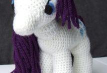 Ponny unicornio crochet
