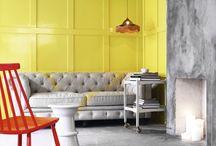 Colores  / Salas/Exterior/Ideas/Dormitorios / by Gabriela González Andrade