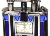Dunhill Watch Lighters / Dunhill Uhrenfeuerzeuge