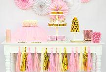 Charlotte Nellie's 1st Birthday / Party ideas