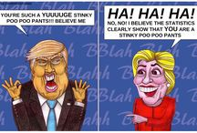 This Cartoon Hilariously Sums Up The Trump Vs Clinton Presidential Debate Perfectly!!!