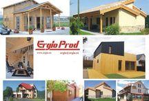 Maison en ossature / Maison en bois