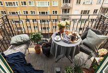 BALCONES Y TERRAZAS / Decoración y muebles para balcones y terrazas.